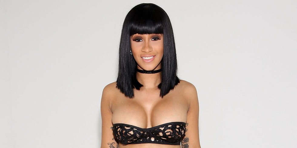 Cardi B No Clothing: 4 Reasons Why Cardi B's Come Up Should Inspire You