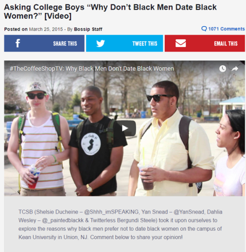 dating a black guy in college